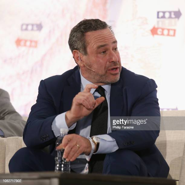 David Frum speaks onstage during Politicon 2018 at Los Angeles Convention Center on October 21 2018 in Los Angeles California