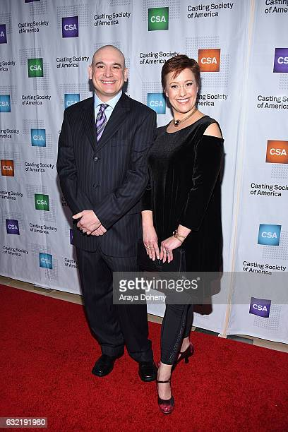David Furberg and Heather Allyn arrive at the 2017 Annual Artios Awards at The Beverly Hilton Hotel on January 19 2017 in Beverly Hills California