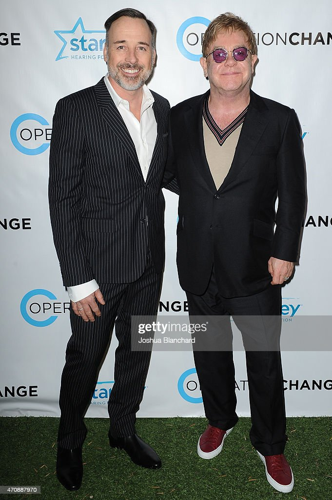 Operation Change For Your Consideration Reception And Screening With Elton John