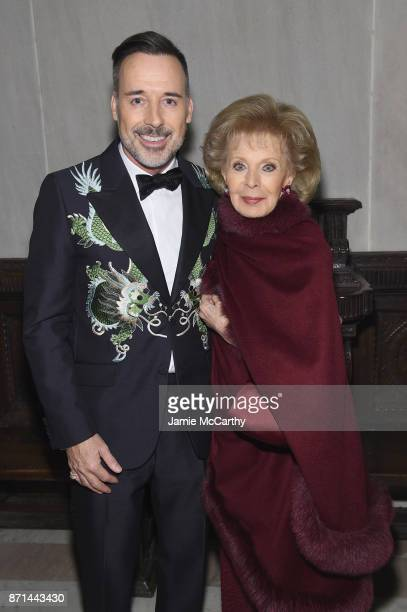 David Furnish and Lily Safra attend the Elton John AIDS Foundation Commemorates Its 25th Year And Honors Founder Sir Elton John During New York Fall...
