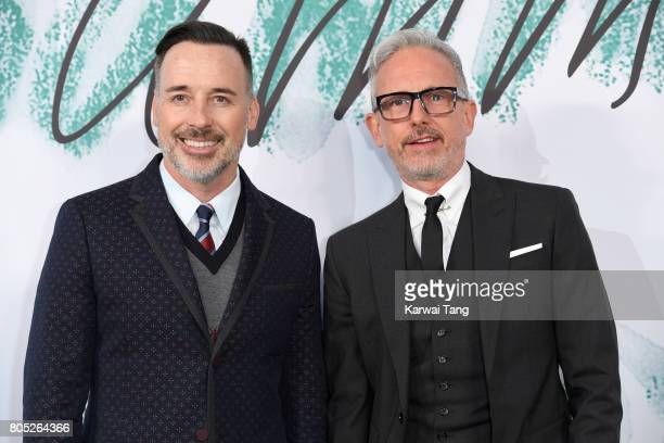 David Furnish and Patrick Cox attend The Serpentine Gallery Summer Party at The Serpentine Gallery on June 28 2017 in London England