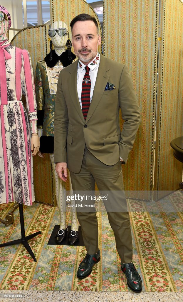 David Furnish attends a cocktail event for the launch of a special Gucci Pre-Fall capsule exclusive to Dover Street Market on June 9, 2017 in London, United Kingdom.