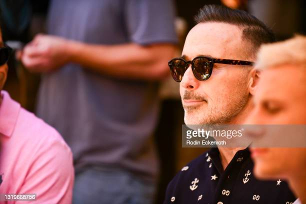 David Furnish attends The Abbey 30th Anniversary Ceremony at The Abbey on May 23, 2021 in West Hollywood, California.