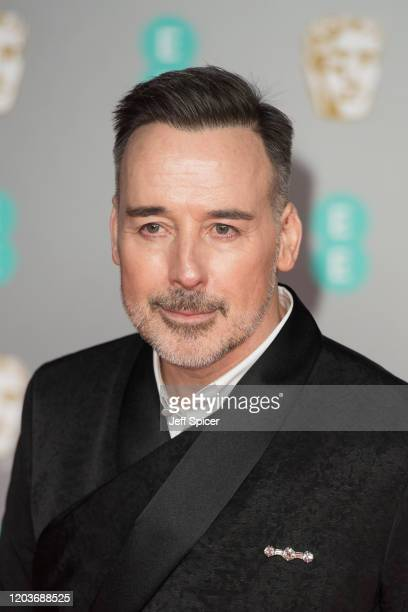 David Furnish attends the EE British Academy Film Awards 2020 at Royal Albert Hall on February 02 2020 in London England