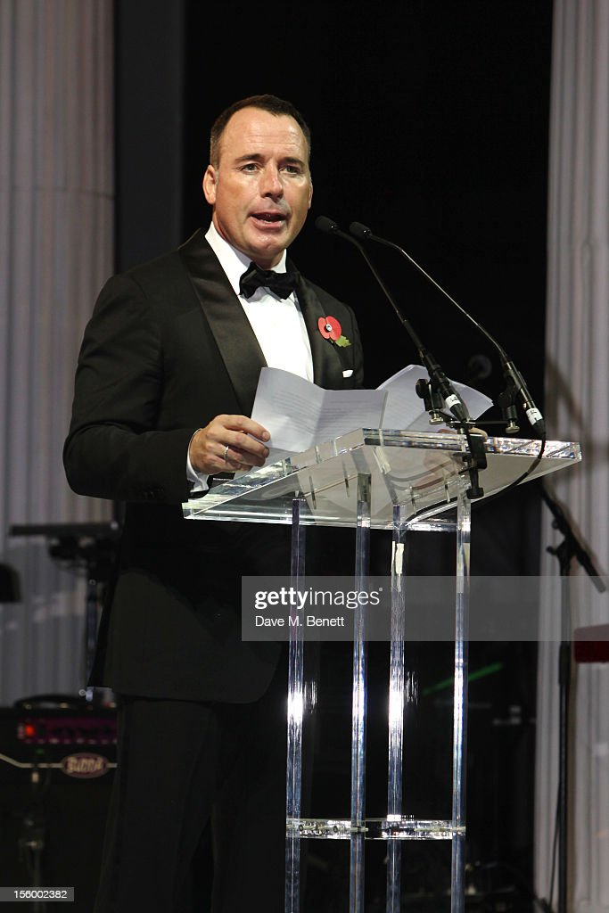David Furnish attends the Grey Goose Winter Ball at Battersea Power Station on November 10, 2012 in London, England.