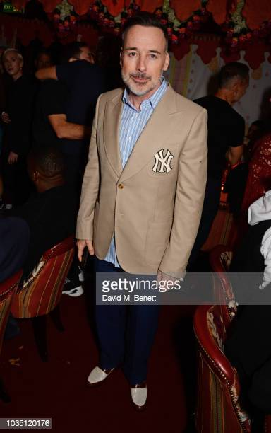 David Furnish attends the LOVE Magazine 10th birthday party with PerrierJouet at Loulou's on September 17 2018 in London England
