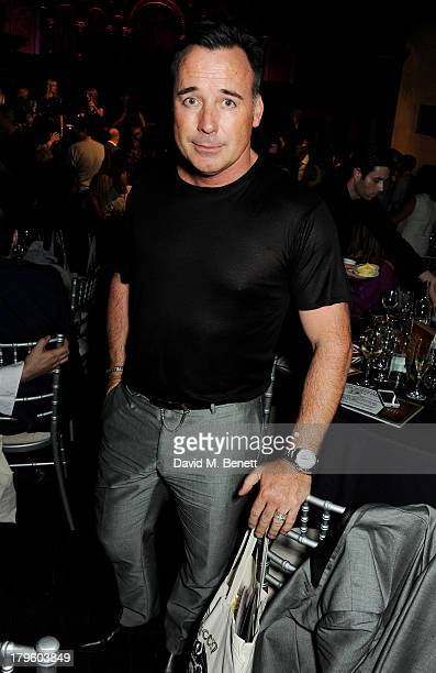 David Furnish attends the Queen AIDS Benefit in support of The Mercury Phoenix Trust at One Mayfair on September 5 2013 in London England