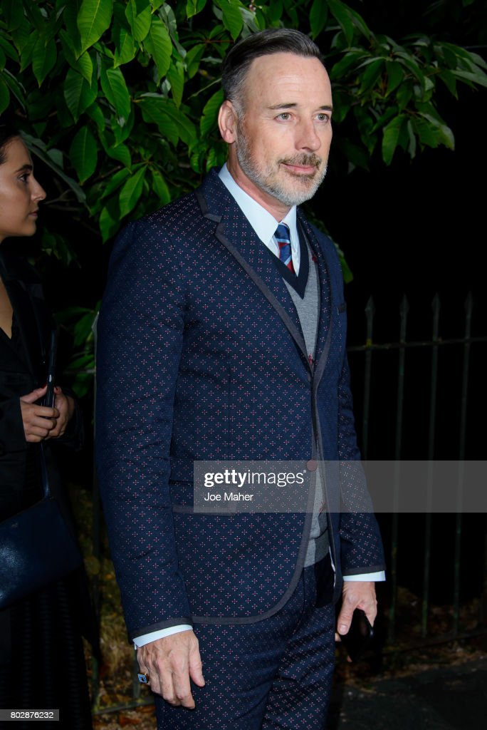 David Furnish attends The Serpentine Galleries Summer Party at The Serpentine Gallery on June 28, 2017 in London, England.