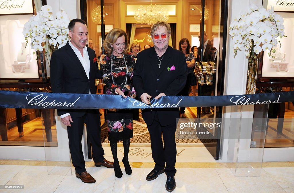 Chopard Grand Opening At Wynn Las Vegas With Sir Elton John