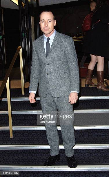 """David Furnish during George Michael's """"A Different Story"""" Gala London Screening - Inside at Curzon Mayfair in London, Great Britain."""