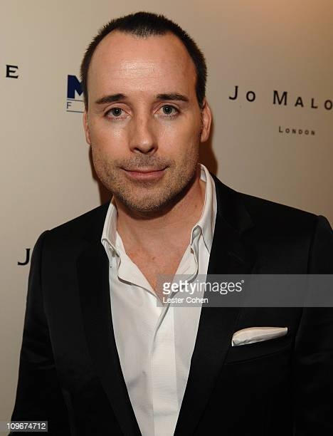 David Furnish during Miramax Films and British Fragrance House Jo Malone Join to Celebrate 2007 OscarNominated Films The Queen and Venus at Sunset...