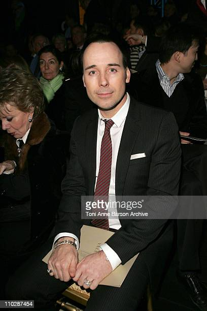 David Furnish during Paris Fashion Week - Haute Couture Spring/Summer 2006 - Valentino - Front Row at Ecole Nationale des Beaux Arts in Paris, France.
