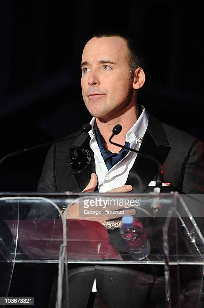 David Furnish hosts the 2008 Fashion Cares Gala at the Metro Toronto Convention Centre on November 1, 2008 in Toronto, Canada.