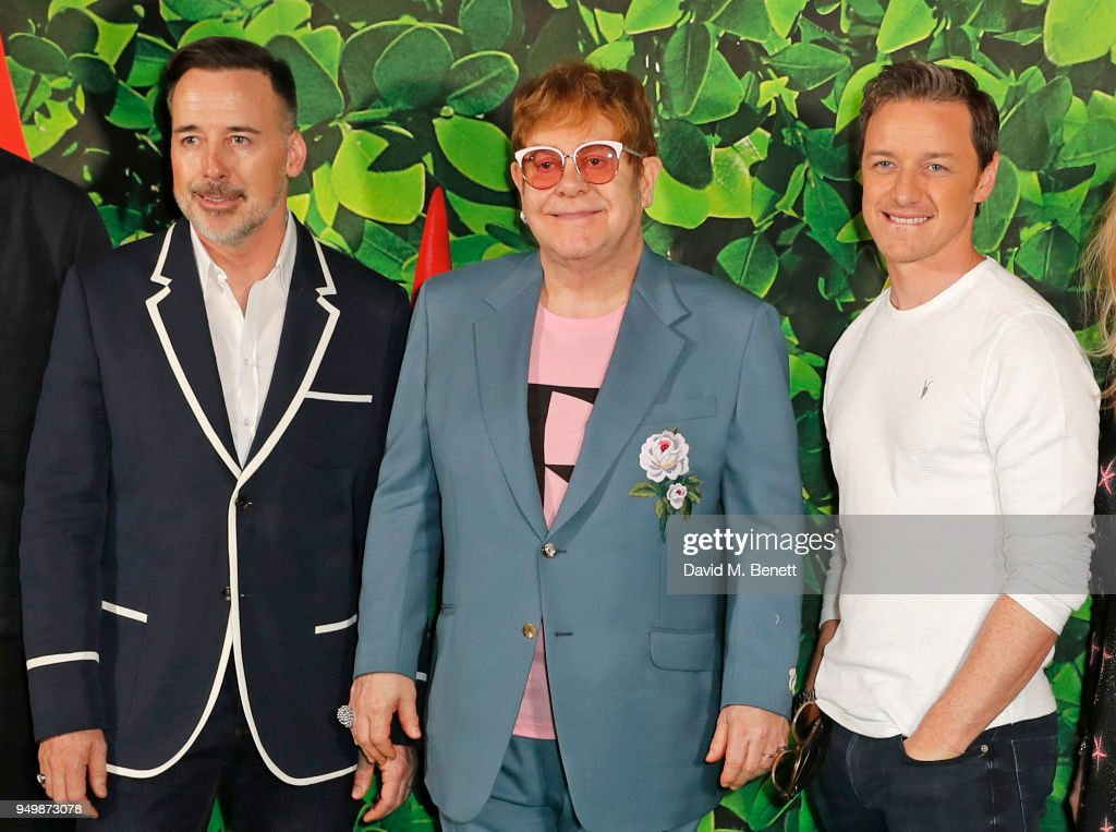 """Sherlock Gnomes"" Family Gala Screening Hosted By Sir Elton John & David Furnish - VIP Arrivals"