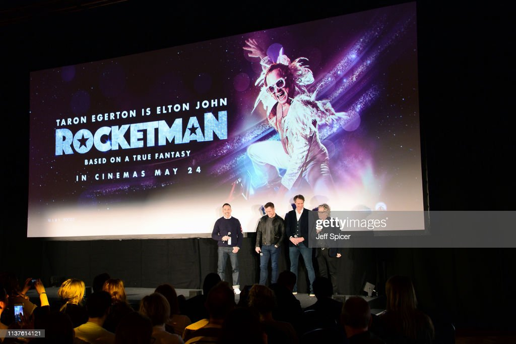 GBR: Paramount Pictures 'Rocketman' Footage at Abbey Road