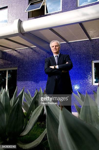 David G. Neeleman, founder of AZUL Airlines at their headquarters in Alfaville, Barueri, Sao Paulo.