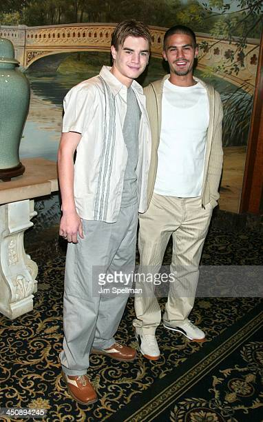 David Gallagher Adam LaVorgna during The WB Introduces Its 20022003 Schedule at New York Sheraton in New York City New York United States