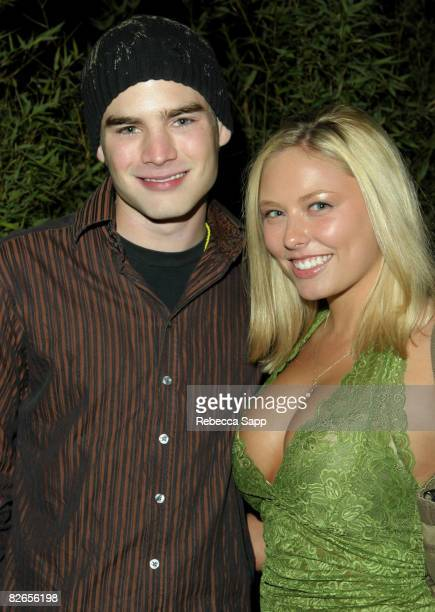David Gallagher and Jillian Grace