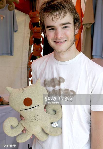 David Gallagher at Uglydolls during Silver Spoon Hollywood Buffet Day Two at Private Estate in Hollywood California United States