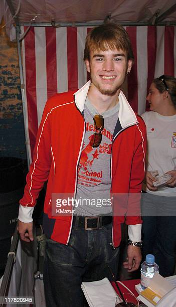 David Gallagher during 11th Annual Kids for Kids Celebrity Carnival to Benefit the Elizabeth Glaser Pediatric AIDS Foundation Inside at Industria...
