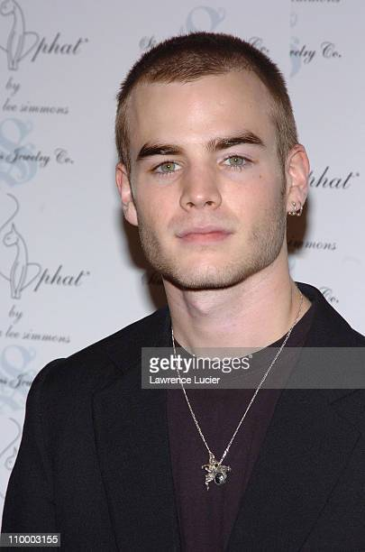 David Gallagher during Olympus Fashion Week Fall 2005 Baby Phat Arrivals at Skylight Studio in New York City New York United States