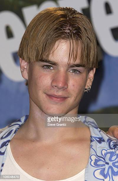 David Gallagher during The 2002 Teen Choice Awards Press Room at Universal Amphitheater in Universal City California United States