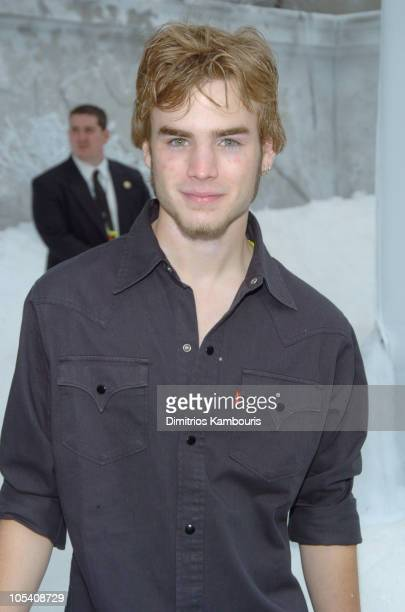 David Gallagher during 'The Day After Tomorrow' New York Premiere Arrivals at American Museum of Natural History in New York City New York United...