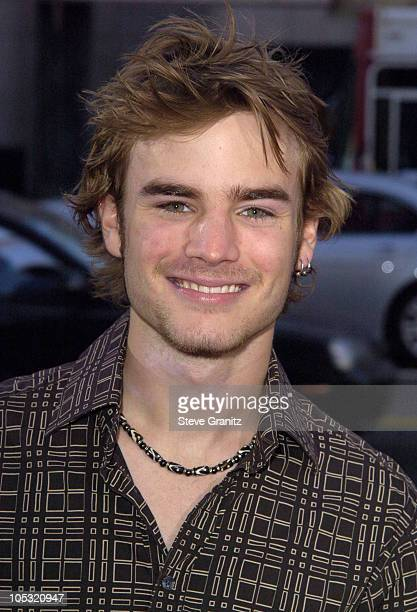 David Gallagher during 'The Terminal' World Premiere Arrivals at The Academy in Beverly Hills California United States