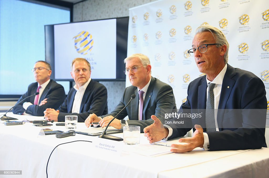 Football Federation Australia Announce New Broadcast Deal : News Photo