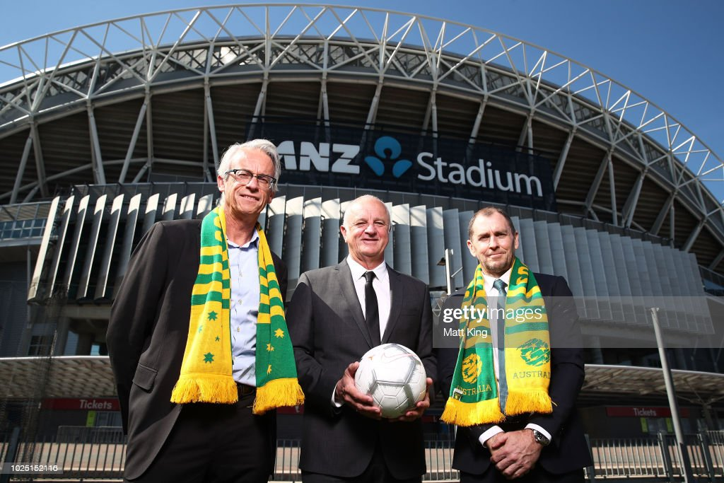 Socceroos Media Announcement : News Photo