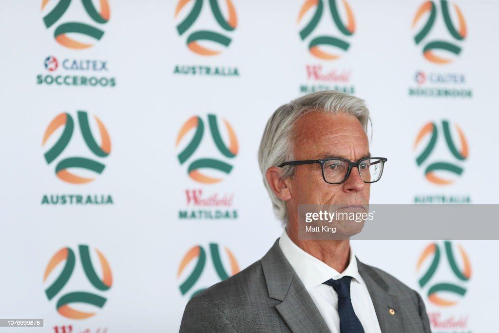 FFA National Team Rebranding Media Opportunity : ニュース写真