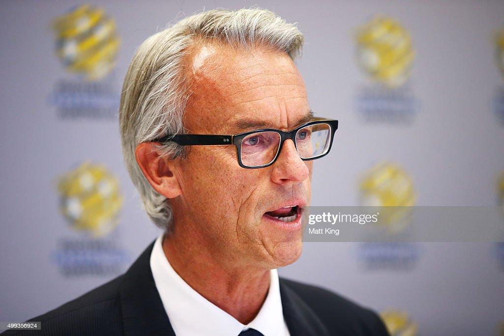 FFA Press Conference : News Photo