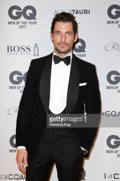 David Gandy arrives for the GQ Men of the year Award 2017 at Komische Oper on November 9 2017 in Berlin Germany