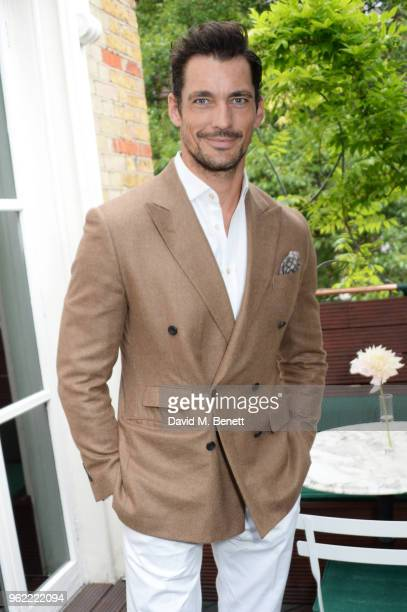 David Gandy attends a private dinner hosted by Cartier to celebrate the opening of the British Polo Season at Casa Cruz on May 24 2018 in London...