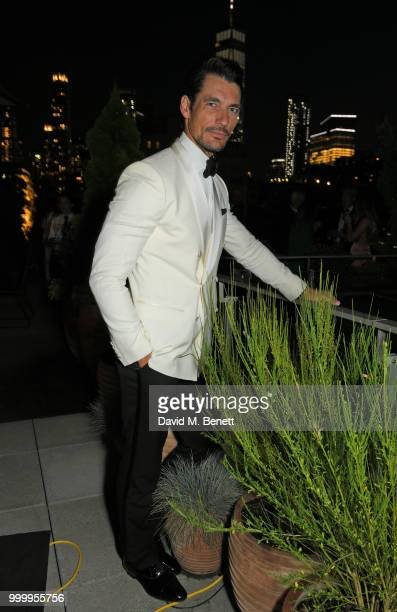 David Gandy attends the 2017/18 ABB FIA Formula E Championship Awards Dinner following the Formula E 2018 Qatar Airways New York City EPrix at Spring...