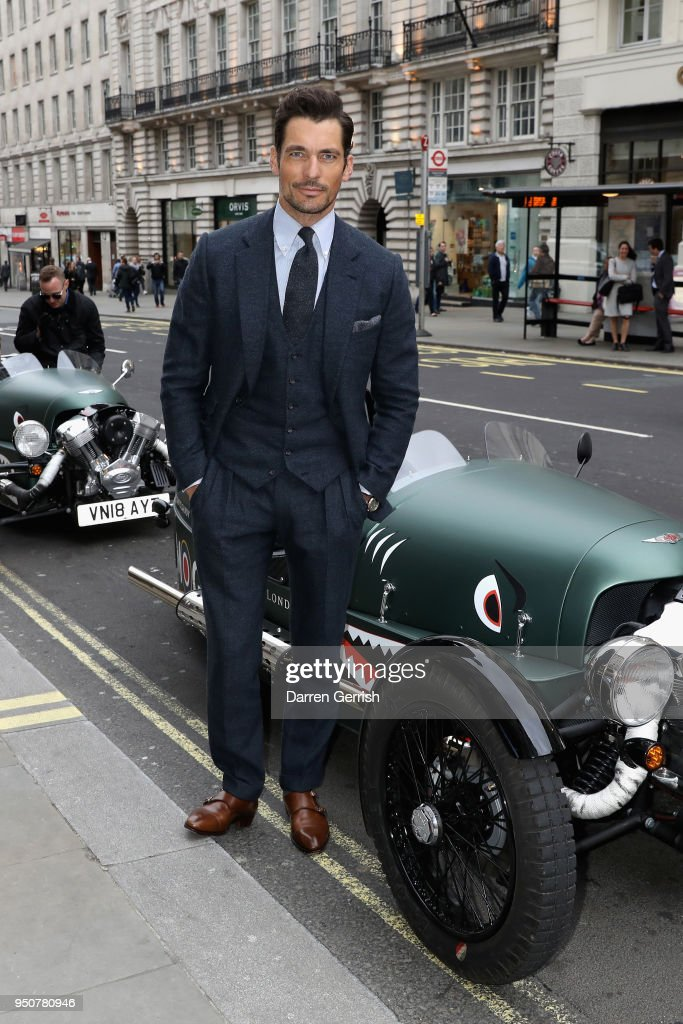 Aspinal of London 'The Aerodrome Collection By David Gandy' Launch Party