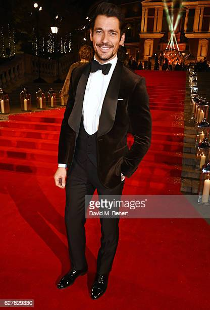 David Gandy attends The Fashion Awards 2016 at Royal Albert Hall on December 5 2016 in London United Kingdom