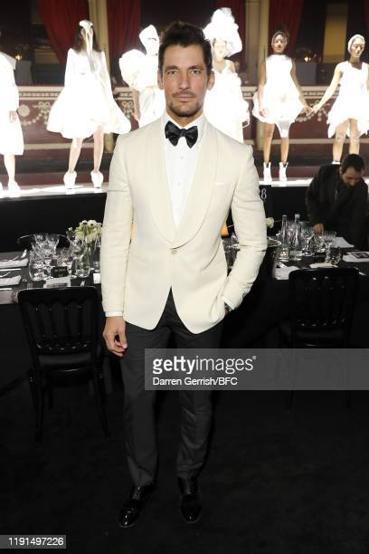David Gandy attends The Fashion Awards 2019 after party held at Royal Albert Hall on December 02 2019 in London England