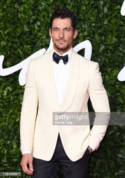 David Gandy attends The Fashion Awards 2019 at the Royal Albert Hall on December 02 2019 in London England