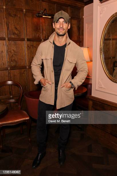 David Gandy attends the Gentleman's Journal back to work drinks party at The Cadogan Arms on September 9, 2021 in London, England.