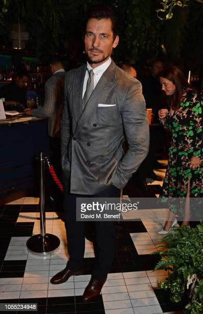 David Gandy attends the GQ 30th anniversary party at SUSHISAMBA Covent Garden on October 29 2018 in London England