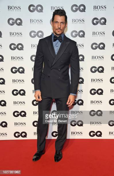 David Gandy attends the GQ Men of the Year Awards 2018 in association with HUGO BOSS at Tate Modern on September 5 2018 in London England