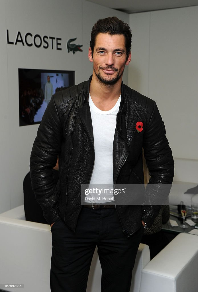 David Gandy attends the Lacoste VIP lounge at ATP World Finals 2013 at 02 Arena on November 11, 2013 in London, England.
