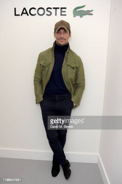David Gandy attends the Lacoste VIP Lounge at the 2019 ATP World Tour Tennis Finals on November 16, 2019 in London, England.