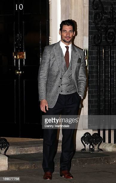 01d65ad730 David Gandy attends the official launch party for the London Collections  MEN AW13 at 10 Downing