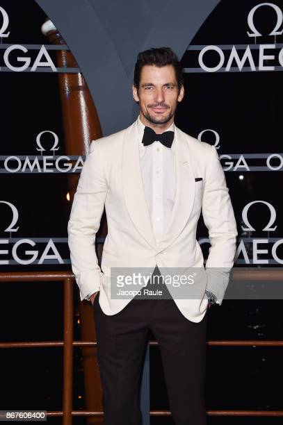 David Gandy attends the OMEGA Aqua Terra at Palazzo Pisani Moretta on October 28 2017 in Venice Italy