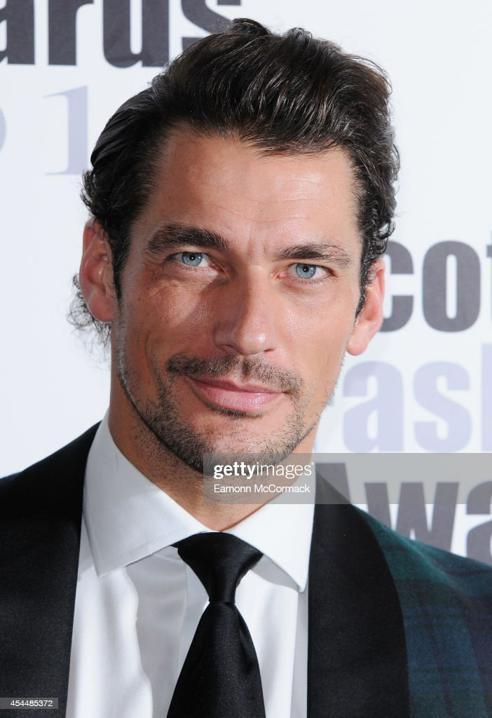 David Gandy attends The Scottish Fashion Awards on September 1, 2014 in London, England.