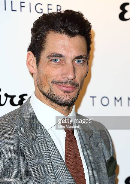 da73dc37 David Gandy attends the Tommy Hilfiger Esquire event at the London  Collections MEN AW13 at on