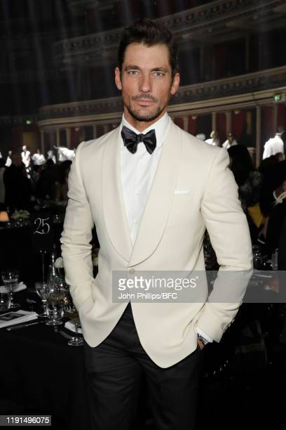 David Gandy attends the VIP dinner at The Fashion Awards 2019 held at Royal Albert Hall on December 02 2019 in London England