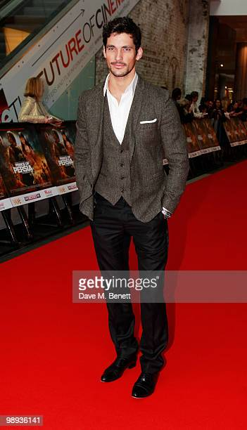 David Gandy attends the World film premiere of 'Prince Of Persia', at Vue Westfield on May 9, 2010 in London, England.